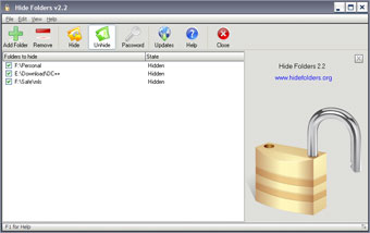 How to Protect confidential files, folders with password and hide them  4